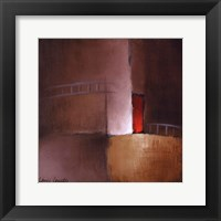 Chocolate Square II Framed Print
