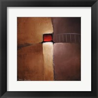 Chocolate Square IV Framed Print
