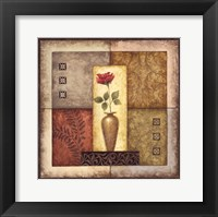 Simple Flower I Framed Print