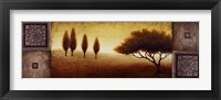 Warm Horizon I Framed Print