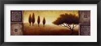 Warm Horizon I Framed Print