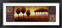 Warm Horizon II Framed Print