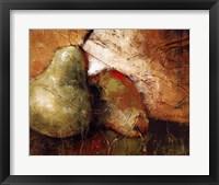 Framed Pear Study I