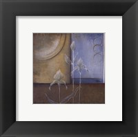 Inspiration In Blue I Framed Print