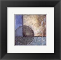 Inspiration In Blue II Framed Print