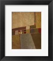 Terra Verde II Framed Print