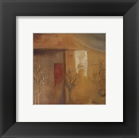 Inspiration In Ochre VI Framed Print