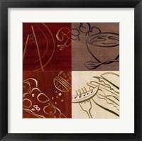 Smorgasbord I Framed Print