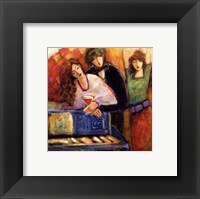 Dance And Make Romance Framed Print