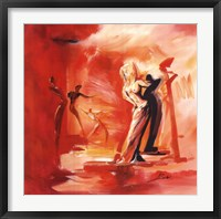 Framed Romance in Red I