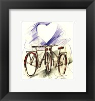 Framed Bicycle Romance