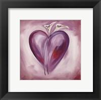 Framed Shades of Love - Lavender