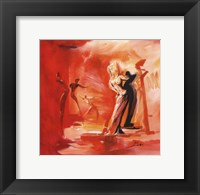 Romance in Red I Framed Print