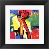 Technicolor Love I Framed Print