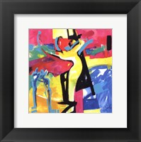 Technicolor Love II Framed Print