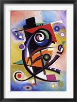 Framed Homage to Kandinsky