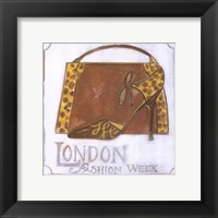 Framed Couture - London Fashion Week - Leopard Shoes