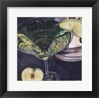 Framed Martini - Apple