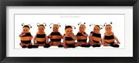 Framed Bumblebee Babies