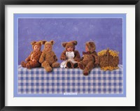 Framed Teddy Bears #2