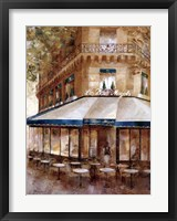Framed Cafe De Paris I