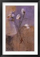 Framed Flowers of June Series I