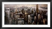 Framed Manhattan by Night
