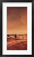 Flowing Fields I Framed Print