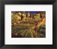 Mount Ventoux Framed Print