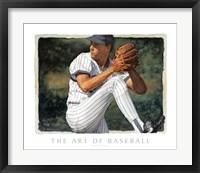 Framed Art of Baseball - The Pitcher