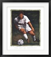 Framed Art of Football - The Shot