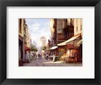 Framed Marche Parisien