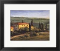 Framed Tuscan Morning