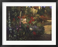 Walled Garden Framed Print