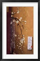 Oriental Blossoms III Framed Print