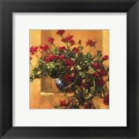 Framed Ivy Geraniums