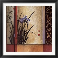 Garden Gateway Framed Print