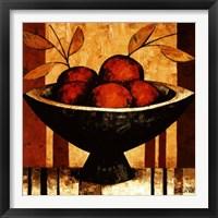 Framed Crimson Harvest