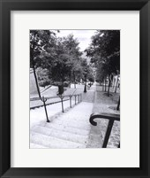 Framed Escalier de Montmarte