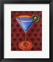 Martini Royale - Hearts Framed Print