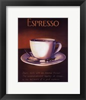Framed Urban Espresso