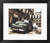 Framed Cuban Cars II