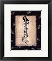 tapp - City Chic Framed Print