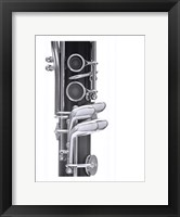 Framed Clarinet