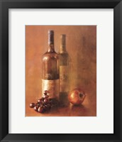 Framed Sunset Wine I