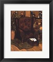 Cozy Den III Framed Print