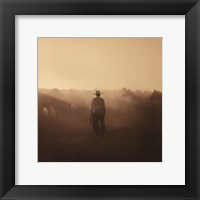 On The Range I - Remuda #5 Framed Print