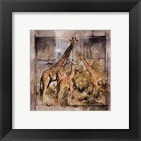 In Good Company I Framed Print