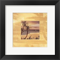 Framed Island Memories I