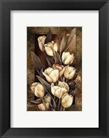 Golden Tulips Framed Print